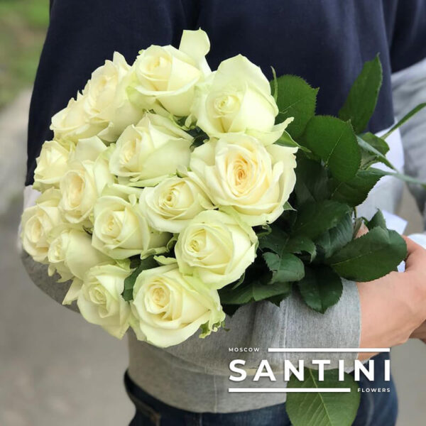 Букет из 15 роз Avalanche