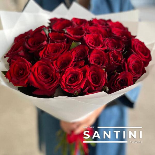 Букет из 31 розы Red Naomi