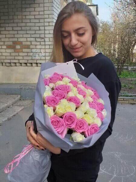 букет цветов santini