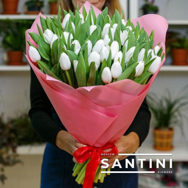 Купить тюльпаны с доставкой в Москве