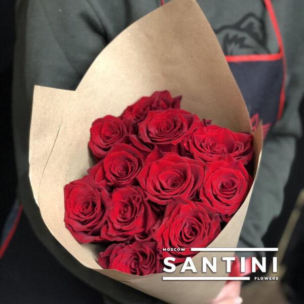 купить 11 красных роз