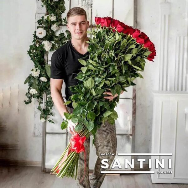 Высокие розы - 140 см